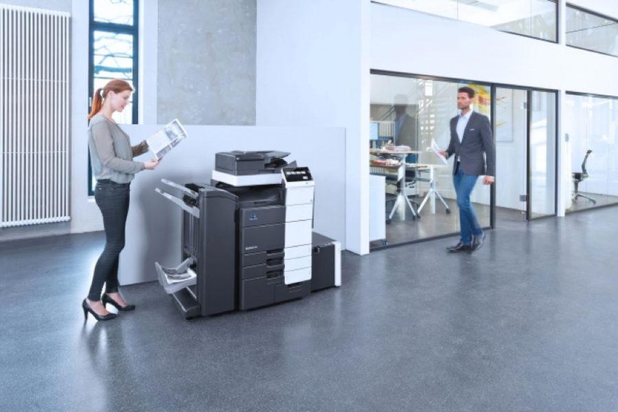 Entornos con volumen alto de impresión: La solución